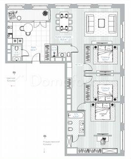 Квартира 3-Комн. Квартира, 143.1 М², 8/10 Эт. Москва